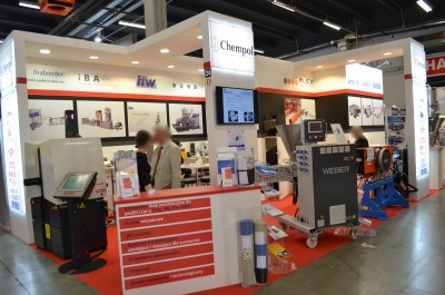 Company stand IFW MOULD TEC GmbH on trade show PLASTPOL 2017