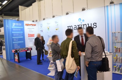 Company stand MARINUS on trade show PLASTPOL 2017