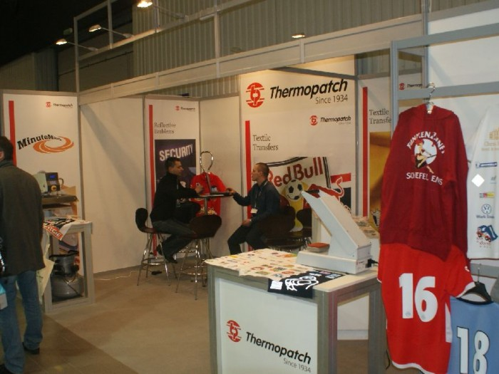 Company stand Thermopatch Polska Sp. z o.o. on trade show RemaDays Warsaw 2011