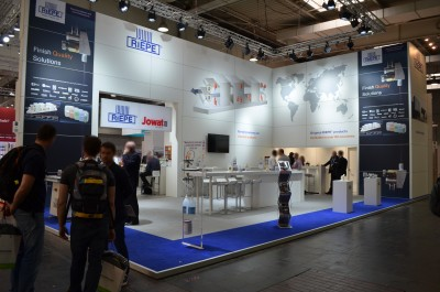Company stand RIEPE GmbH & Co. KG on trade show LIGNA PLUS HANNOVER 2017