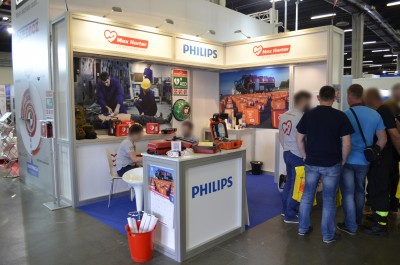 Company stand MAX HARTER on trade show KIELCE IFRE-EXPO & WORK SAFETY-EXPO 2017