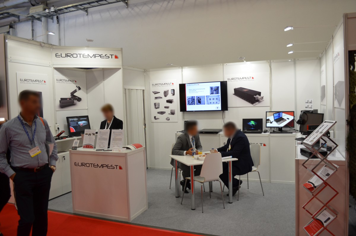 Company stand EUROTEMPEST B.V. on trade show MSPO & LOGISTYKA 2017