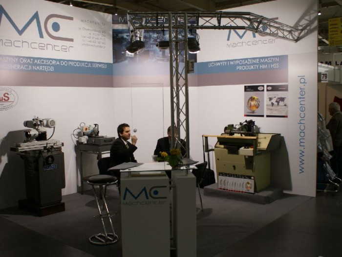 Company stand MachCenter s.c. on trade show DREMA 2011