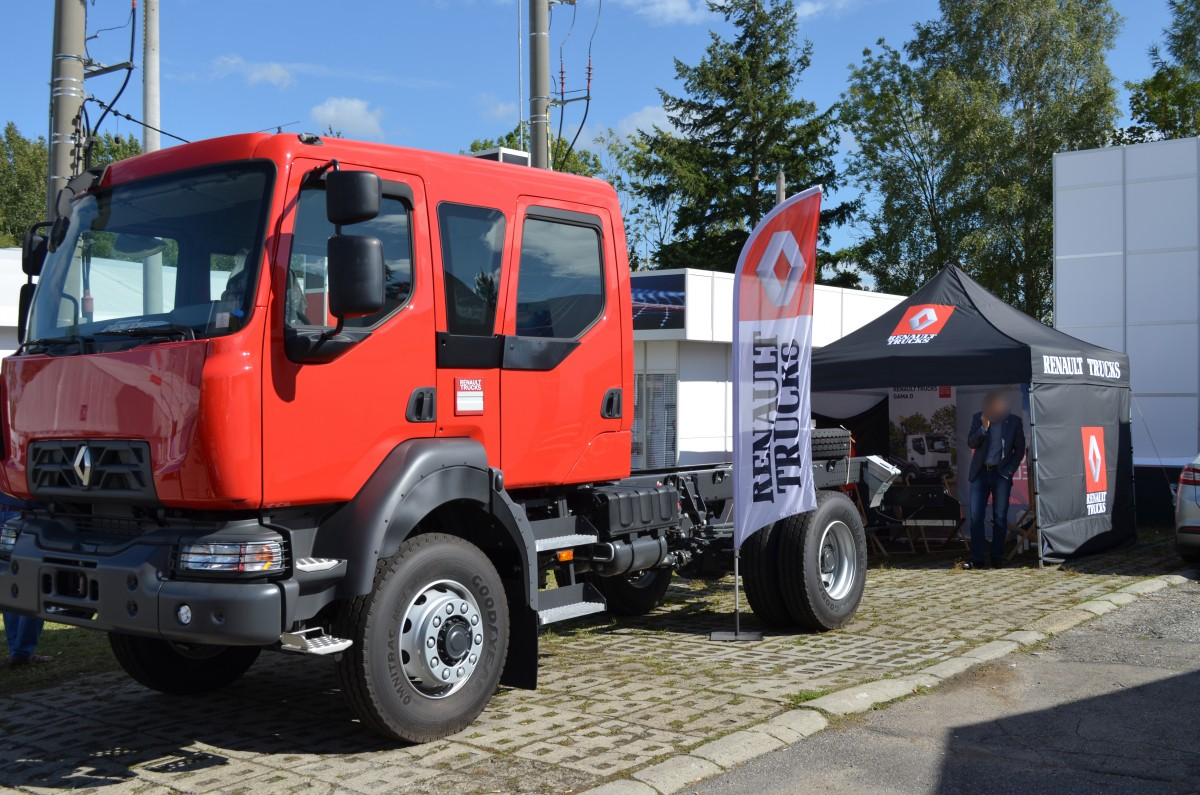 Company stand Renault Trucks Polska Sp. z o.o. on trade show ENERGETAB 2017