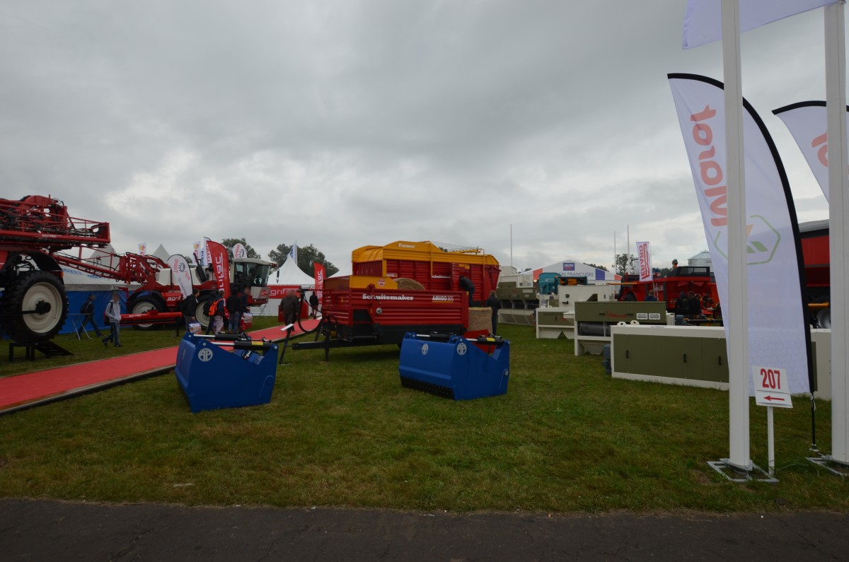 Company stand AGRIFAC MACHINERY B.V. on trade show AGROSHOW 2017