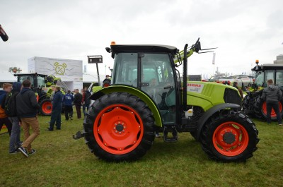 Company stand CLAAS Polska Sp. z o.o. on trade show AGROSHOW 2017