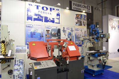 Company stand TOP PORĘBA on trade show TOOLEX & OILexpo & WIRTOTECHNOLOGIA 2017