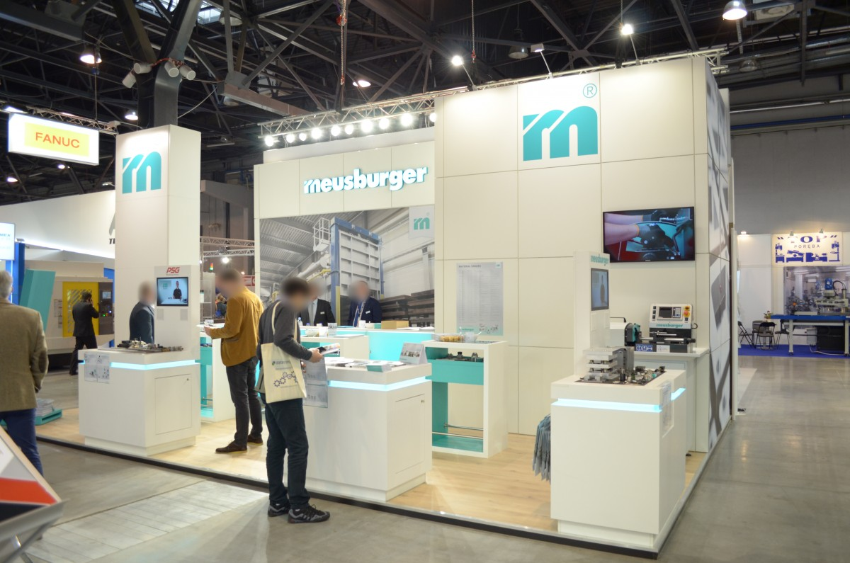 Company stand MEUSBURGER GEORG GmbH & Co KG Standard moulds on trade show TOOLEX & OILexpo & WIRTOTECHNOLOGIA 2017