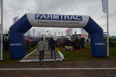 Company stand FARMTRAC TRACTORS EUROPE Sp. z o.o. on trade show AGROSHOW 2017