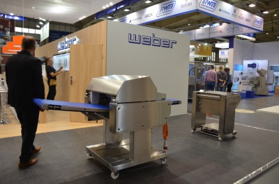 Company stand WEBER POLAND Sp. z o.o. on trade show POLAGRA-TECH 2017