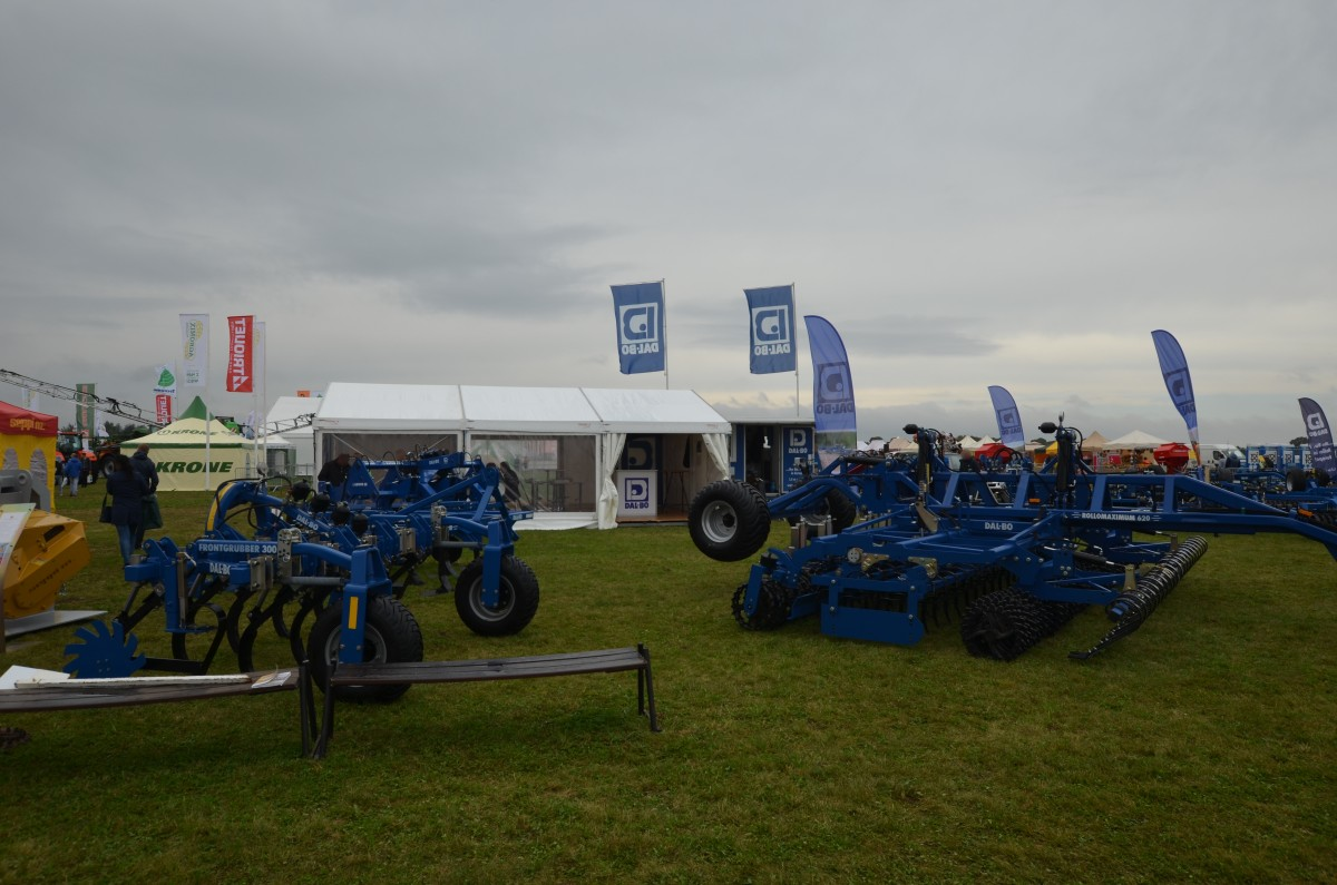 Company stand DAL-BO A/S on trade show AGROSHOW 2017