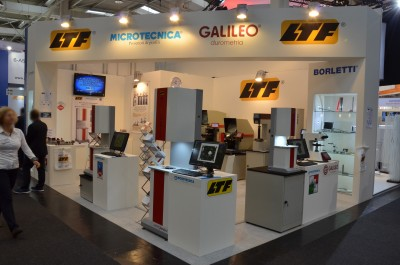 Company stand LTF S.p.A. on trade show EMO HANNOVER 2017
