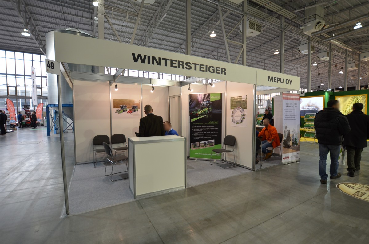 Company stand WINTERSTEIGER AG on trade show POLAGRA-PREMIERY 2018
