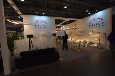 Company stand BRITOP Lighting Sp. z o.o. on trade show ELEKTROTECHNIKA & ŚWIATŁO 2018