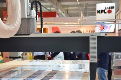 Company stand InfoTEC CNC on trade show RemaDays Warsaw 2018