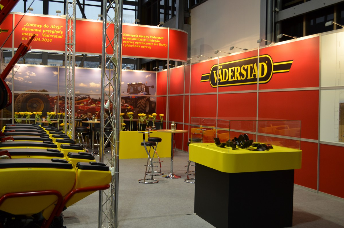 Company stand VÄDERSTAD Sp. z o.o. on trade show POLAGRA-PREMIERY 2014