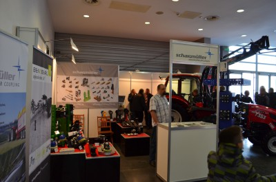 Company stand SCHARMÜLLER GESELLSCHAFT mbH & Co. KG on trade show POLAGRA-PREMIERY 2014