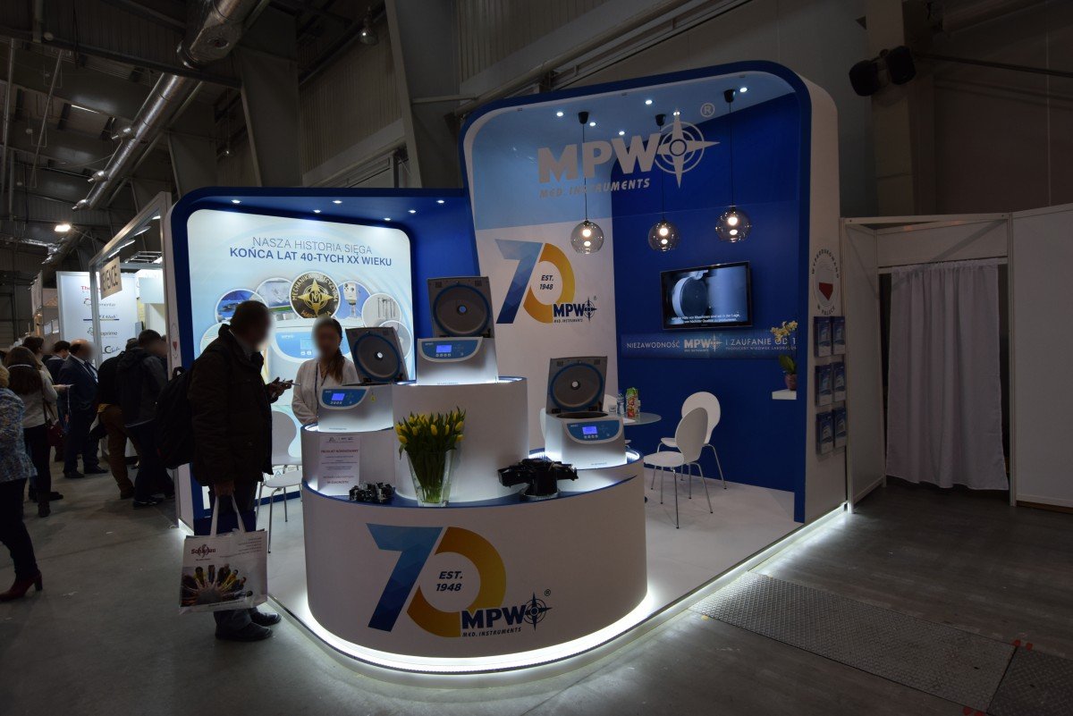 Company stand MPW Med. Instruments on trade show EUROLAB & CrimeLab 2018