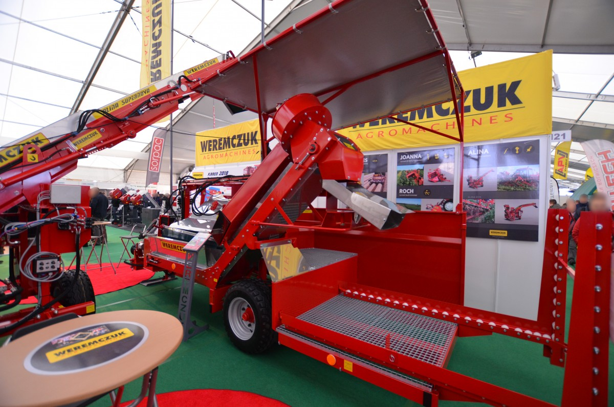 Company stand Weremczuk FMR Sp. z o.o. on trade show AGROTECH & LAS-EXPO 2018