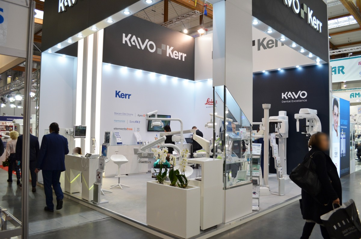 Company stand KERR SpofaDental on trade show KRAKDENT 2018