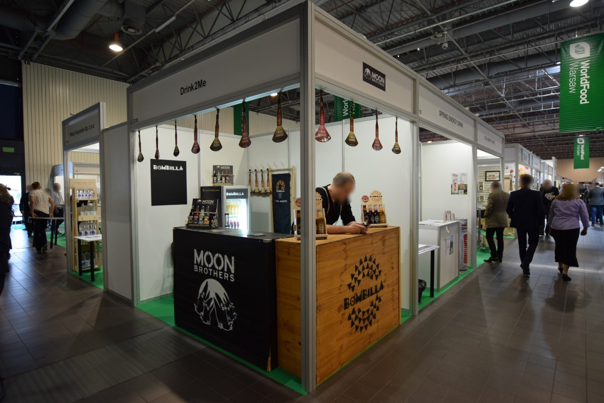 Company stand Drink2me Sp z .o. o. / Bombilla Drink on trade show WorldFood Poland 2018