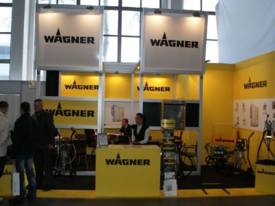 Company stand WAGNER-SERVICE on trade show DREMA 2011