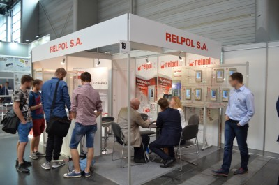 Company stand RELPOL SA on trade show EXPOPOWER 2018