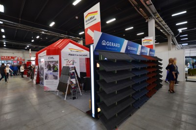 Company stand AHI Roofing Gerard Roofing Systems on trade show DOM & OGRÓD i TY 2018