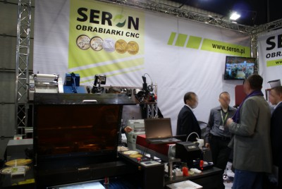 Company stand SERON on trade show RemaDays Warsaw 2014