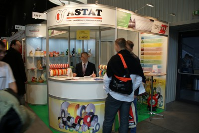 Company stand ASTAT Sp. z o.o. on trade show RemaDays Warsaw 2014