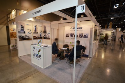 Company stand FILTROWENT s.c. R. Jung, T. Łangowicz on trade show DREMASILESIA 2018