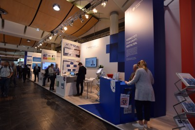 Company stand HESSEN TRADE & INVEST GmbH on trade show HANNOVER MESSE 2018