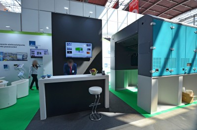 Company stand EQUIPO on trade show PLASTPOL 2018