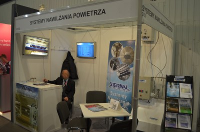 Company stand STERNAL INTERNATIONAL Sp. z o.o. on trade show RemaDays Warsaw 2014