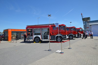 Company stand P.U.H. MOTO-TRUCK Leszek Chmiel on trade show KIELCE IFRE-EXPO & WORK SAFETY-EXPO 2018