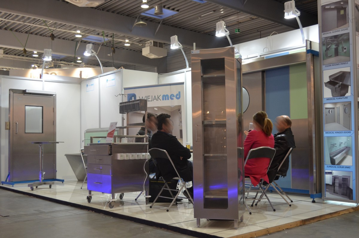 Company stand WIEJAK Sp. z o.o. on trade show SALMED 2014