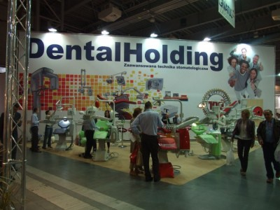 Company stand HOL-DENTAL DEPOT on trade show CEDE 2011