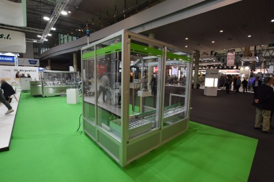 Company stand HERYVAL, S.L. on trade show HISPACK 2018