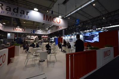 Company stand IMCO on trade show HISPACK 2018