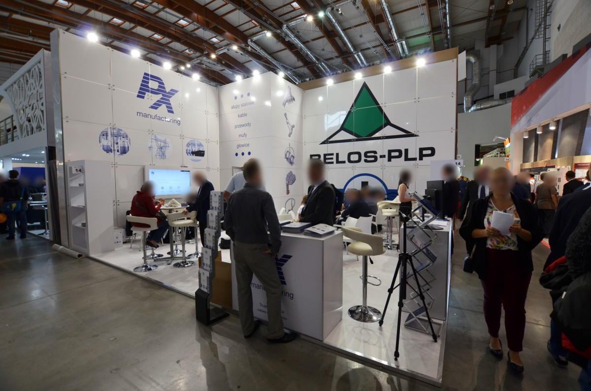 Company stand Belos-plp Sa on trade show ENERGETAB 2018