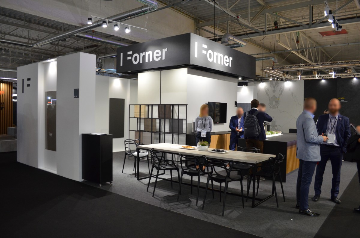 Company stand FORNER Sp. z o.o. on trade show WARSAW HOME 2018