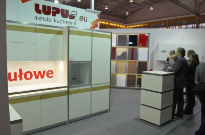 Company stand LUPUS Sp.j. on trade show MEBLE POLSKA 2014