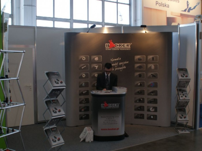 Company stand BÄCKER POLSKA Sp. z o.o. on trade show DREMA 2011