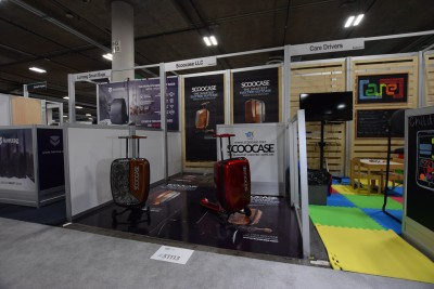 Company stand Scoocase LLC on trade show INTERNATIONAL CES 2019