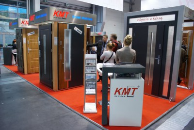 Company stand KMT KRAT-MET on trade show BUDMA 2014