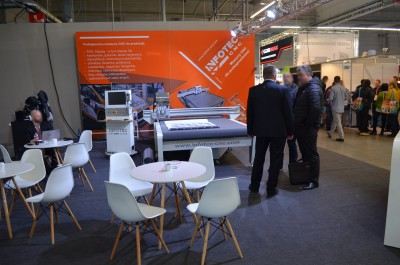 Company stand InfoTEC CNC on trade show RemaDays Warsaw 2019