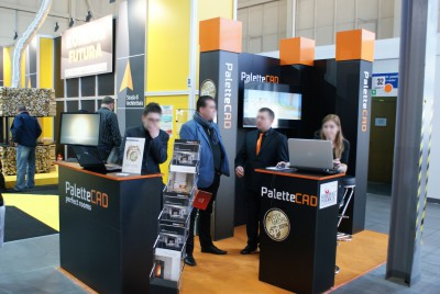 Company stand Palette CAD on trade show KOMINKI 2014