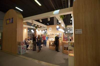 Company stand TM Toys on trade show KIDS' TIME 2019