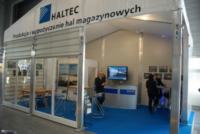 Company stand HALTEC HALE Sp. z o.o. on trade show BUDMA 2014