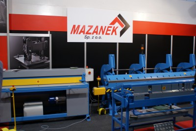 Company stand MAZANEK Sp. z o.o. PUH on trade show BUDMA 2014